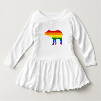 Rainbow Tapir Dress