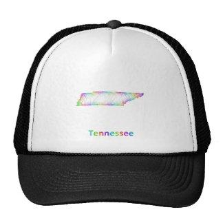 Rainbow Tennessee map Trucker Hat