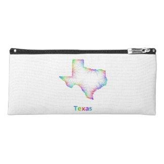 Rainbow Texas map Pencil Case