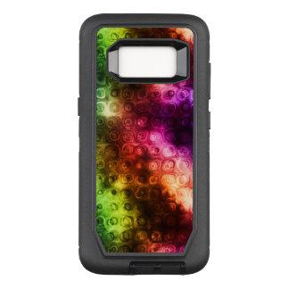 Rainbow Texture OtterBox Defender Samsung Galaxy S8 Case