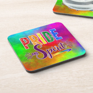 Rainbow Themed Pride and Spirit LGBT Coaster