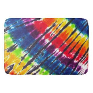 Rainbow Tie-Dye Bath Mat