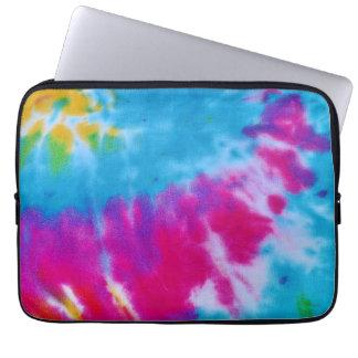 rainbow tie dye laptop case computer sleeves