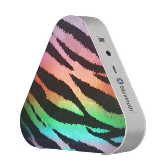 Rainbow Tiger Animal Print Bluetooth Speaker