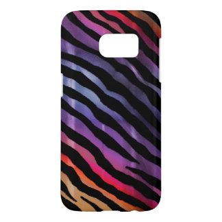 Rainbow Tiger Animal Print Samsung S7 Case
