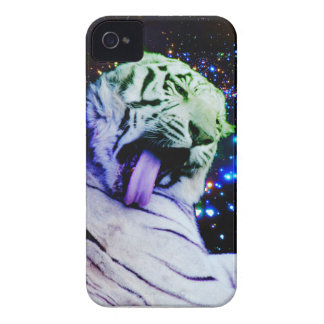 Rainbow Tiger iPhone 4 Cover