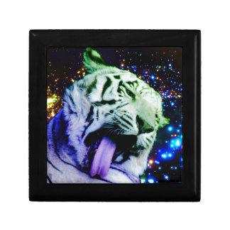 Rainbow Tiger Jewelry Box