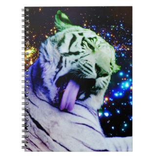 Rainbow Tiger Notebook