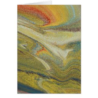 Rainbow Tornado Card