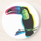 Rainbow Toucan Coaster