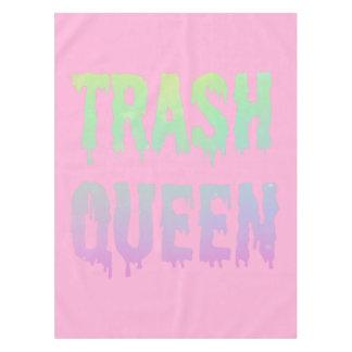 Rainbow Trash Tablecloth
