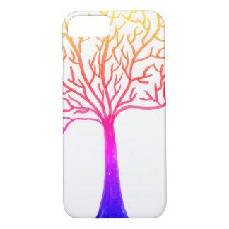 Rainbow tree iPhone 8/7 case