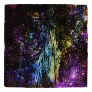 Rainbow Tree Trivet