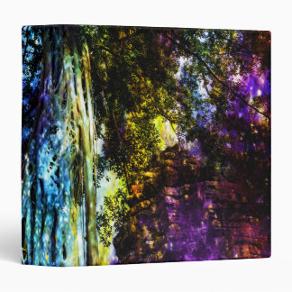 Rainbow Tree Vinyl Binder