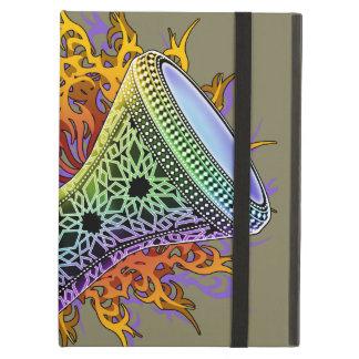 Rainbow Tribal Doumbek iPad Air Cases