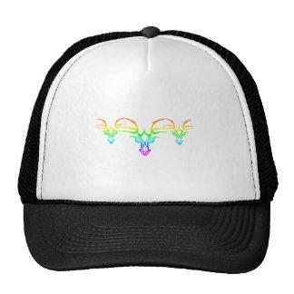 Rainbow Tribal Trucker Hat