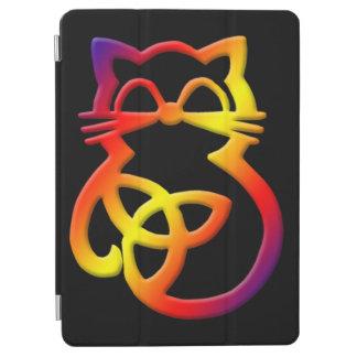 Rainbow Trinity Knot Celtic Cat iPad Air 2 Cover iPad Air Cover