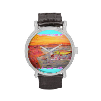 rainbow trout art watches