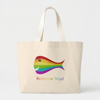 Rainbow Trout Tote Bags