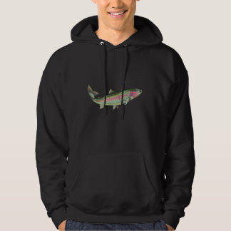 RAINBOW TROUT BUBBLES by SHARON SHARPE Hoodie