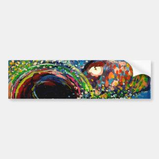 Rainbow Trout Car Bumper Sticker