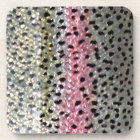 Rainbow Trout by PatternWear© Coaster