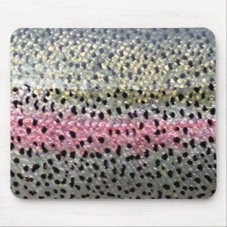 Rainbow Trout by PatternWear© Mouse Pad