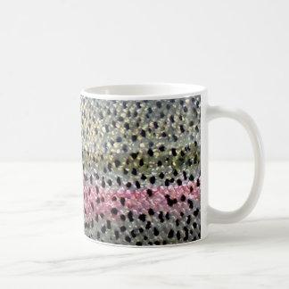 Rainbow Trout by PatternWear© Coffee Mugs