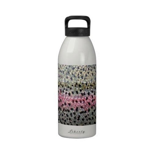 Rainbow Trout by PatternWear© Drinking Bottle