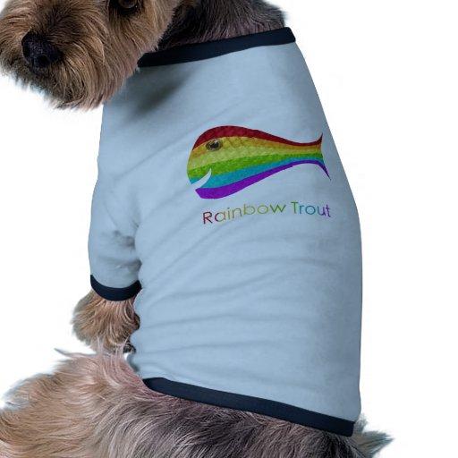 Rainbow Trout Dog Shirt