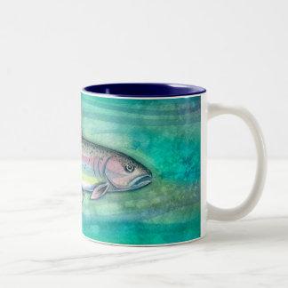 Rainbow Trout Fish Art Mug