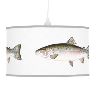 Rainbow Trout Fish Ceiling Lamp