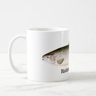 Rainbow Trout Fish Classic White Coffee Mug