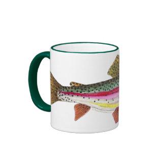 Rainbow Trout Fish Ringer Mug