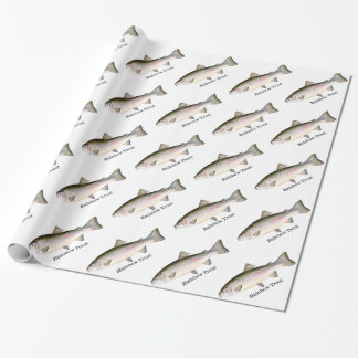 Rainbow Trout Fishes Pattern