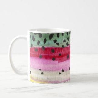 Rainbow Trout Fishing Classic White Coffee Mug