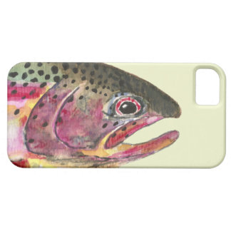Rainbow Trout Fishing iPhone 5 Cases