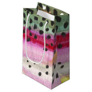 Rainbow Trout Fishing Small Gift Bag