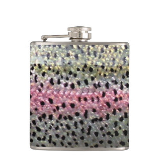 Rainbow Trout Flask by Patternwear©