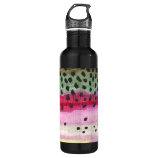 Rainbow Trout Fly Fishing, Fisherman's 710 Ml Water Bottle