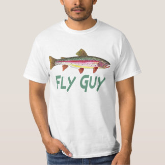 Rainbow Trout Fly FIshing T-Shirt