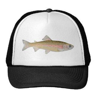 rainbow trout trucker hats