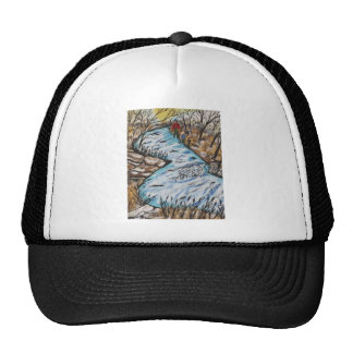 Rainbow Trout Mesh Hats