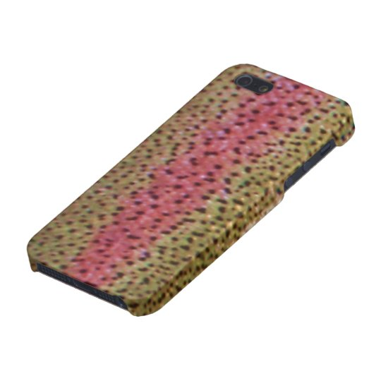 Rainbow Trout iPhone 5 Case Savvy Glossy Finish