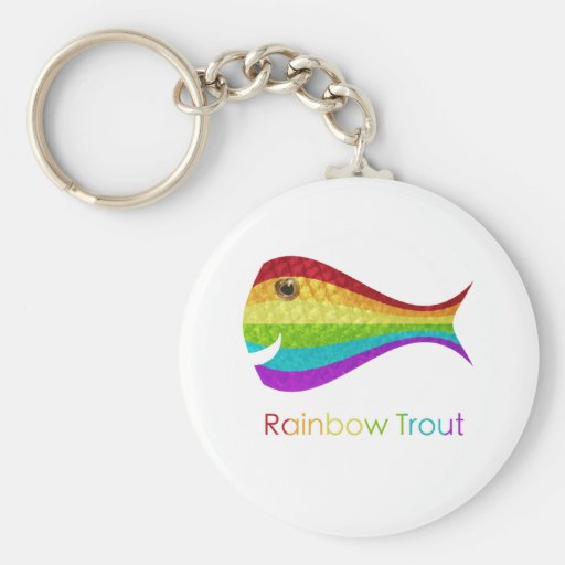 Rainbow Trout Key Chains