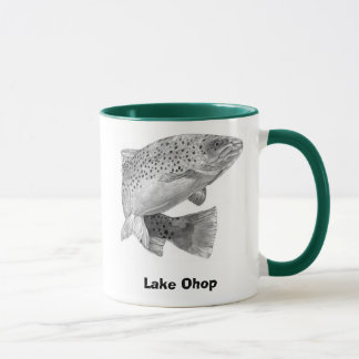 RAINBOW-TROUT, Lake Ohop, GoneFishin' Mug