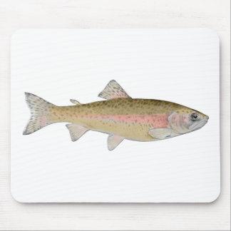 rainbow trout mousepads