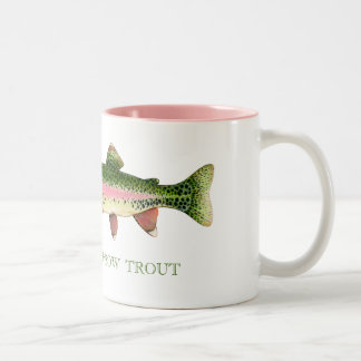 RAINBOW TROUT COFFEE MUGS
