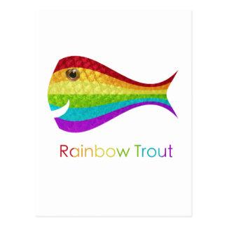 Rainbow Trout Postcard