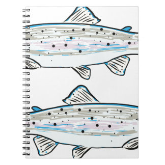 Rainbow Trout Sketch Notebooks